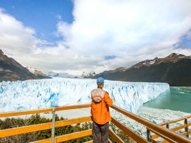 Navegação pela geleira de Perito Moreno e passeio pelas passarelas