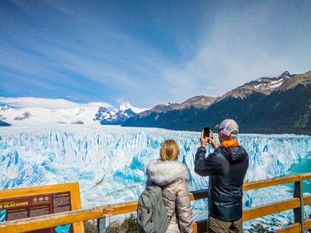 Navegação pelo Glaciar Perito Moreno