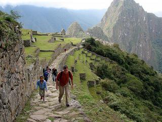 Entrada a Ruínas de Machu Picchu