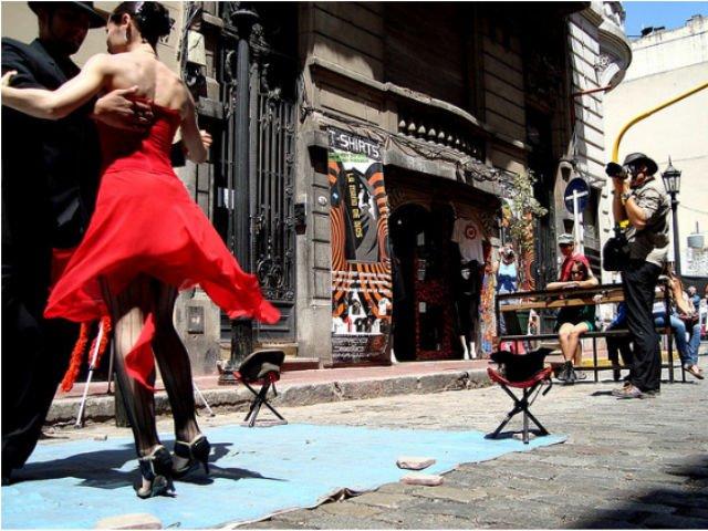Um dia de passeios em Buenos Aires e um grande Espetáculo de Tango