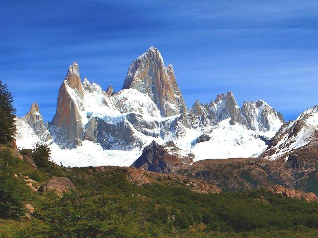 Dia de trekking em El Chaltén - As belas paisagens do Fitz Roy
