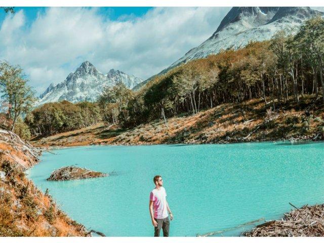 Trem do fim do mundo! - Chegando ao Parque Nacional Tierra del Fuego