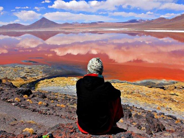 Excursão em Jeep Deserto Siloli + Deserto Dali + Laguna Colorada + almoço + Jantar