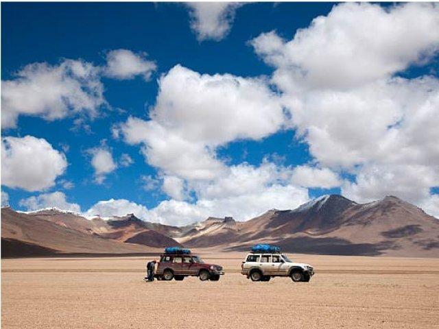 Transporte Regular Frontera Bolívia -  Centro de San Pedro do Atacama