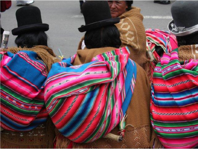 Chegada a La Paz
