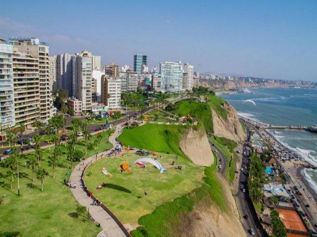 Chegada a Lima