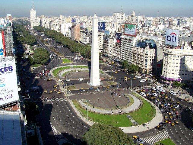 Chegando à Buenos Aires e dia livre para passeios