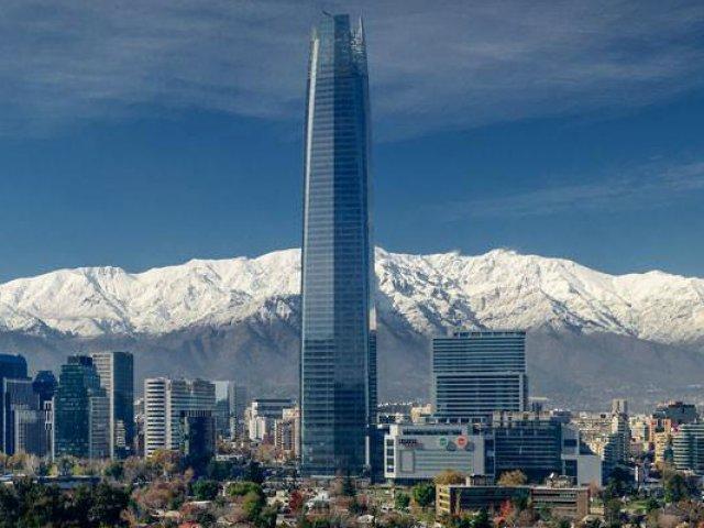 Chegando a Santiago do Chile