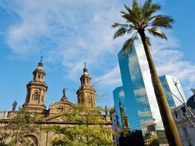 City Tour Privado en Santiago com Guia em Portugues